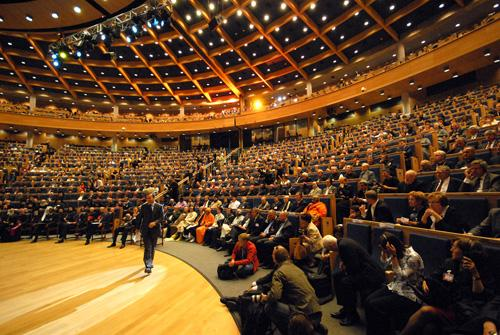 Assemblea Inaugurale all' Auditorium Maximum
