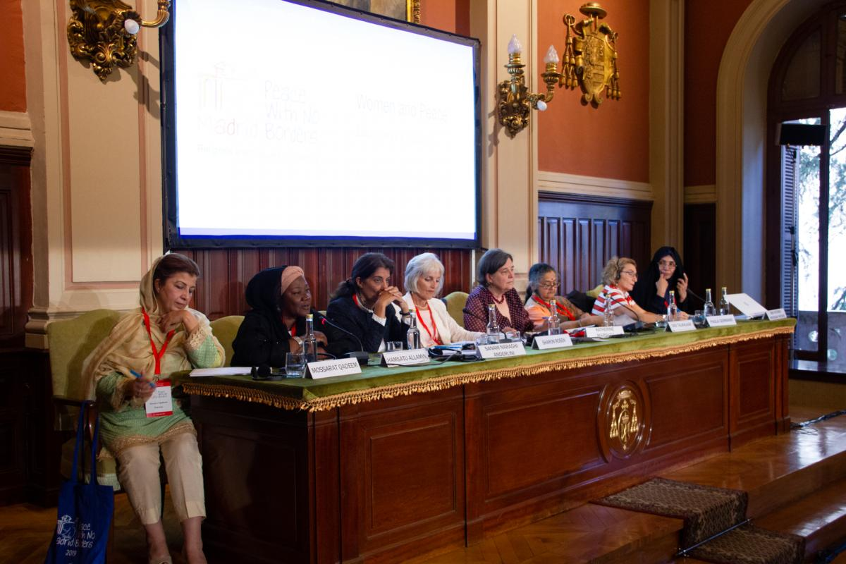 (Madrid) Panel 16 - Le donne e la pace