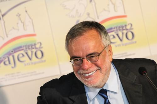 Press Conference Andrea Riccardi
