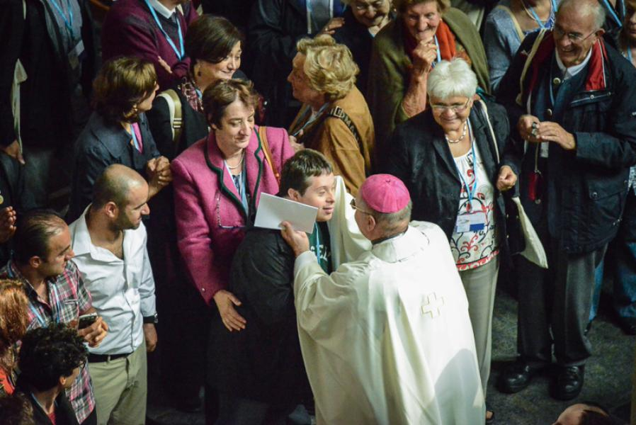 Eucharistic Celebration - Antwerpen 7th September 2014