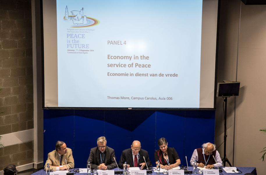 PANEL 4: Economy in the service of Peace